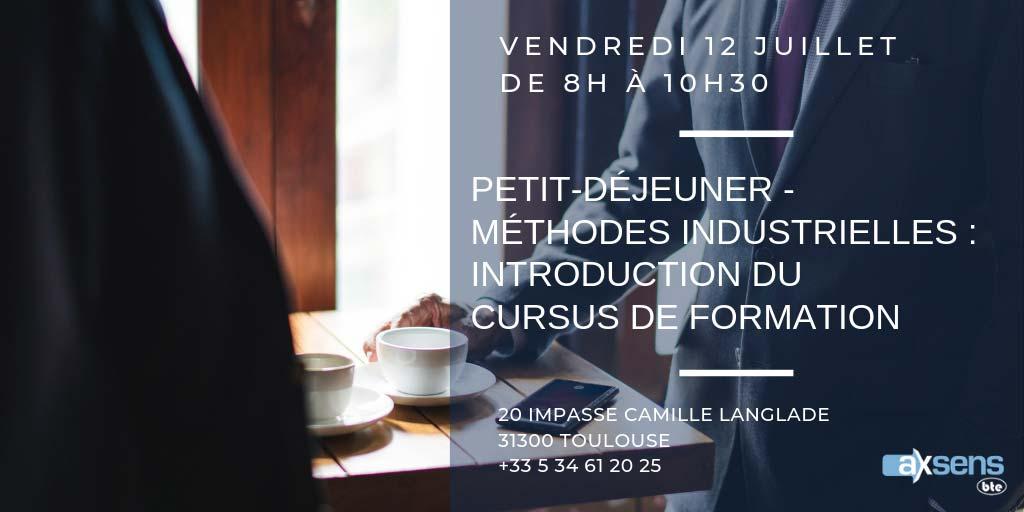 Petit-déjeuner : Présentation du cursus Méthodes Industrielles