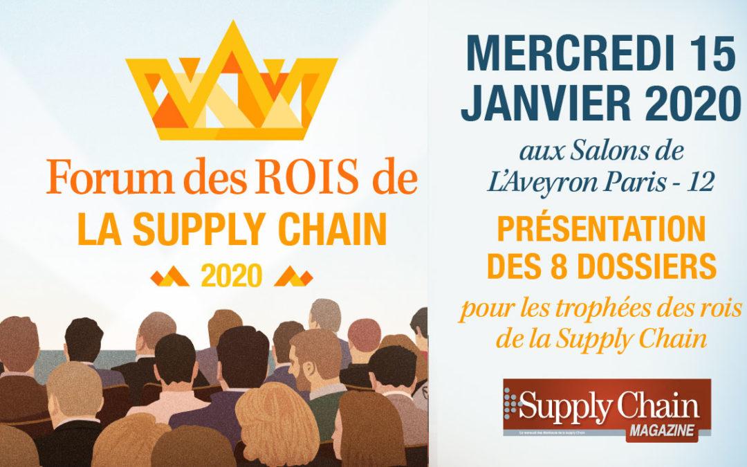 Forum des rois de la supply chain – 15 janvier 2020